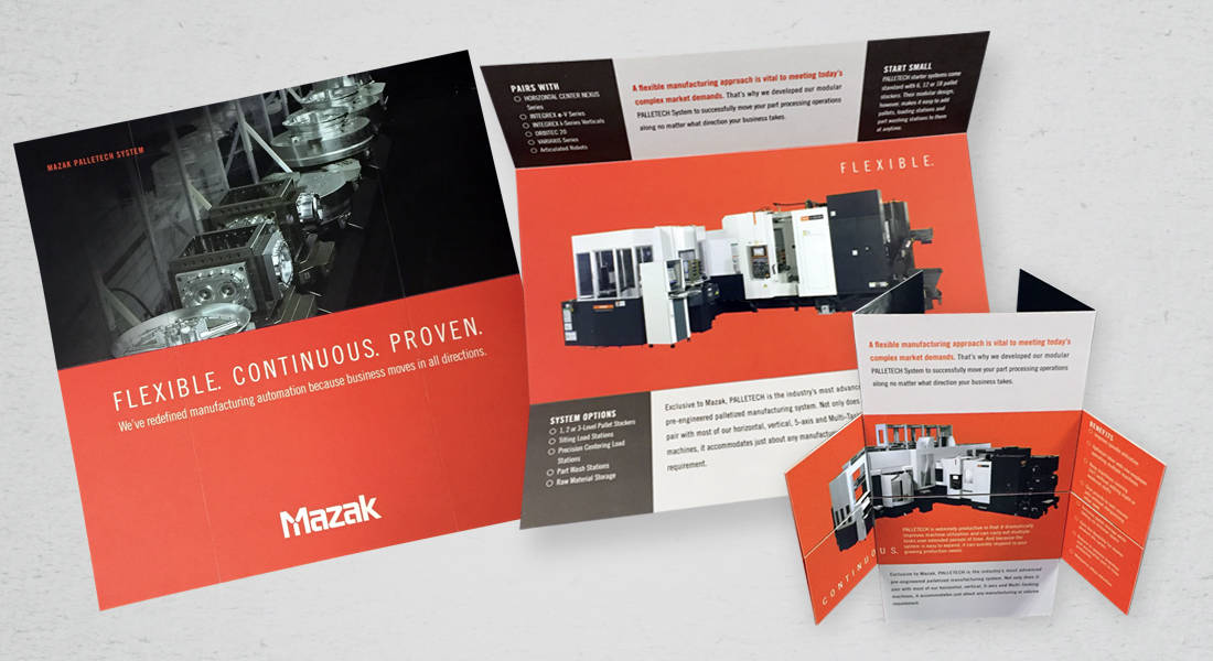 Mazak Corporation – PALLETECH mailer