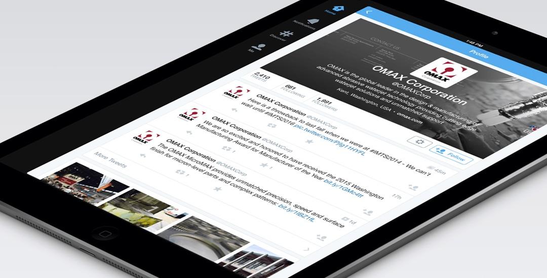 OMAX Corporation Social Media
